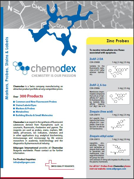 Chemodex 2014 Product Flyer