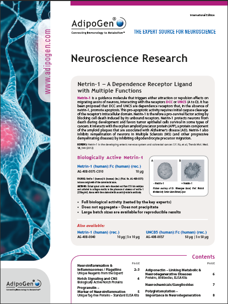 Neuroscience Research Product Flyer 2014