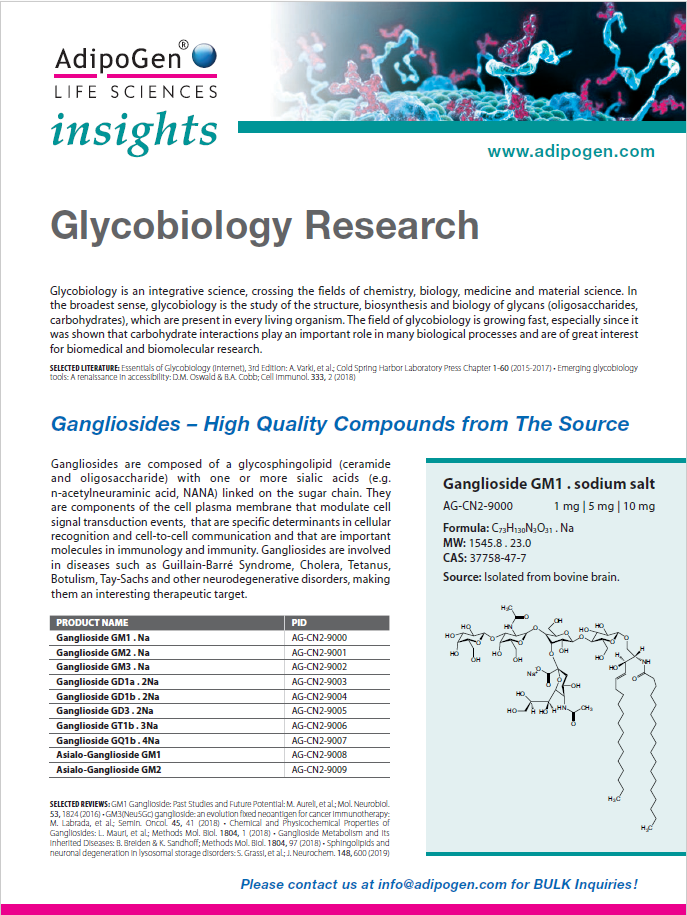 Glycobiology Research Flyer