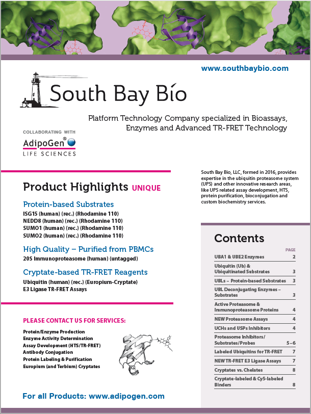 SouthBayBio Product Flyer 2017