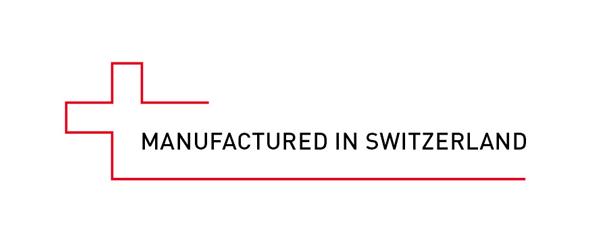 Manufactured in Switzerland