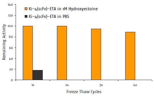 Antibody Stability with Hydroxyectoine