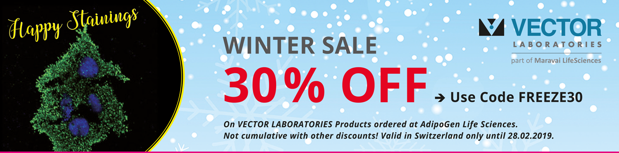 Vector Laboratories Winter Sale